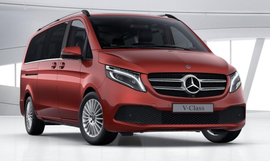 Mercedes V-Class, VIP- en directievervoer van All-Time Taxi BCS